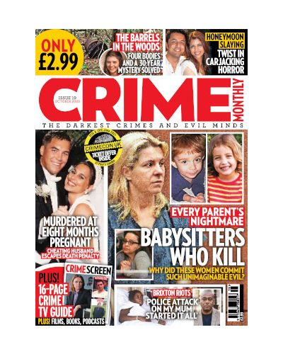 Crime Monthly Print Issue 19