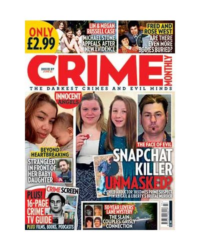 Crime Monthly Print Issue 27
