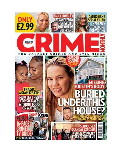 Crime Monthly Print Issue 26