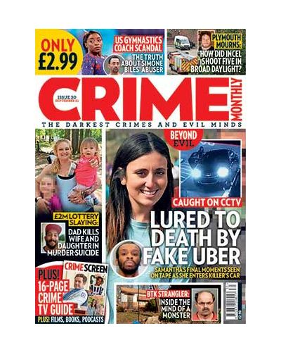 Crime Monthly Print Issue 30