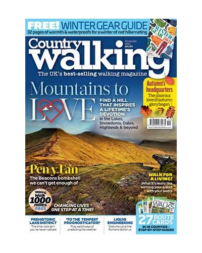 country walking+ magazine subscription