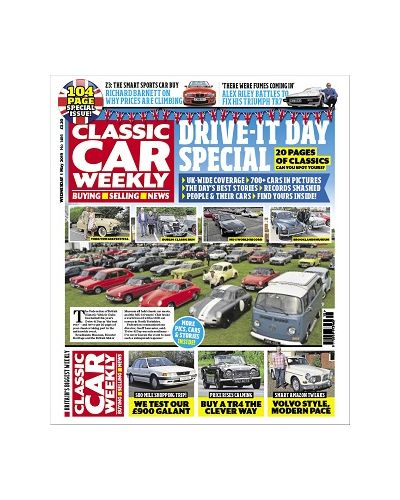 Classic Car Weekly- Drive-It Day special