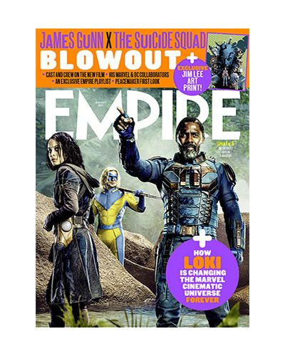Empire August 2021 - The Suicide Squad: Cover 1