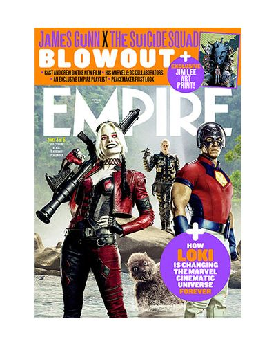Empire August 2021 - The Suicide Squad: Cover 3