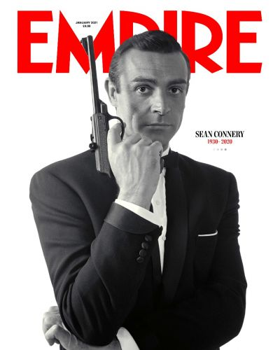 Empire January 2021 - Sean Connery Tribute