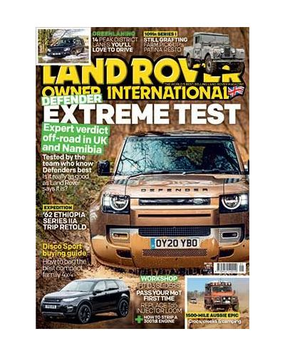 Land Rover Owner May 2020