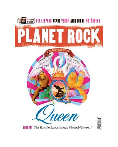 Planet Rock issue 17: White Cover