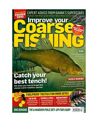 Improve Your Coarse Fishing Print Subscription