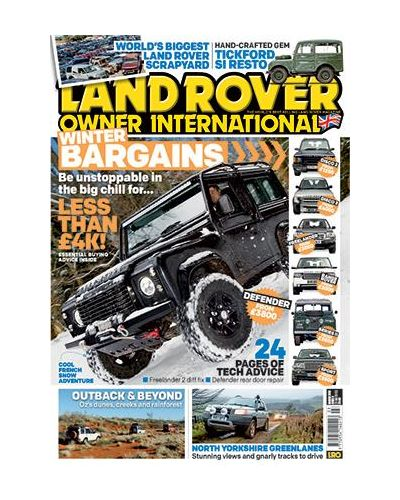 Land Rover Owner Digital issue March 2019