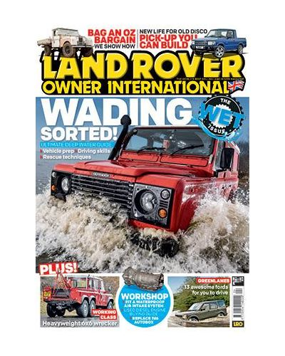 Land Rover Owner issue April 2019