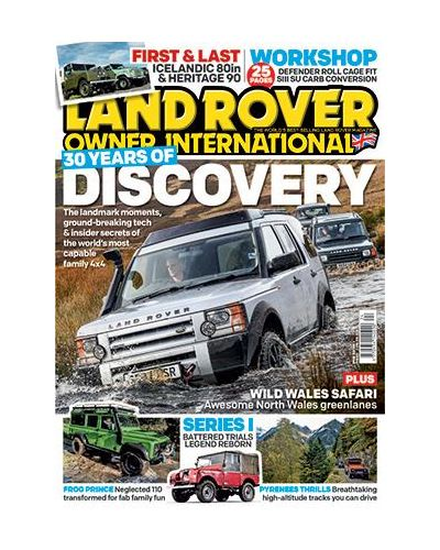 Land Rover Owner Digital issue Spring 2019