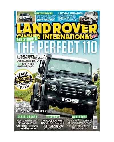 Land Rover Owner September 2021