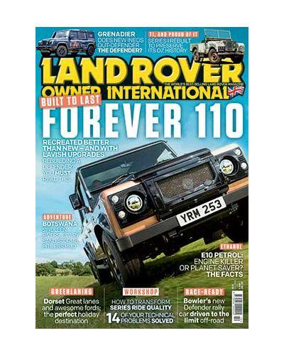 Land Rover Owner October 2021