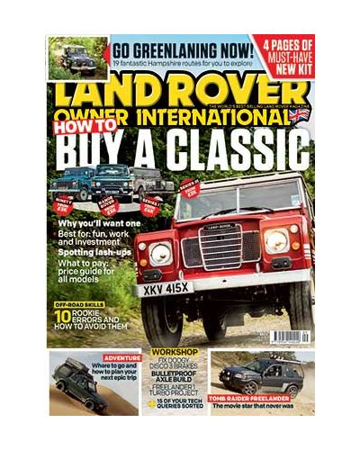 Land Rover Owner September 2020