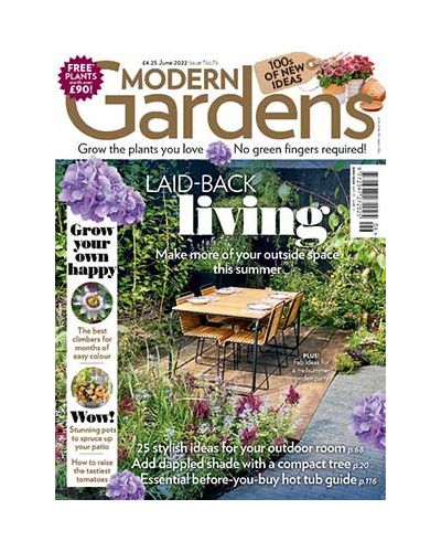 Modern Gardens Magazine Subscription