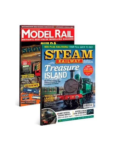 Model Rail & Steam Railway Print Subscription Pack