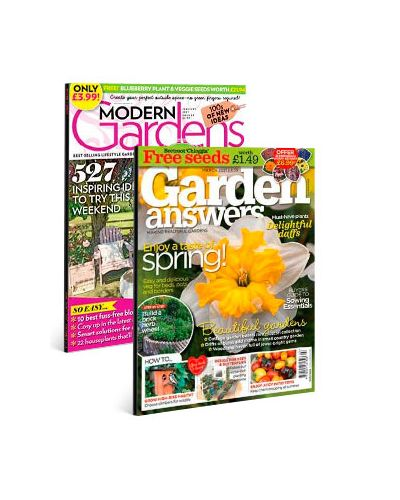 Modern Gardens & Garden Answers Print Subscription Pack