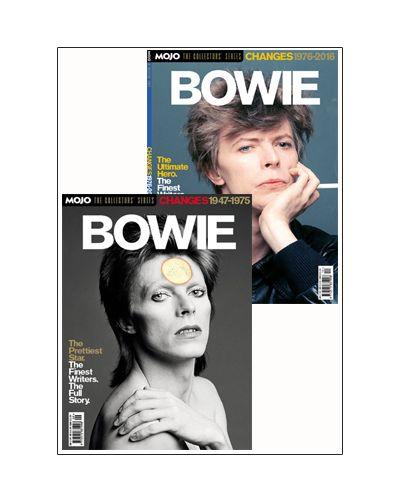 Mojo:  The Collectors Series: David Bowie Series bundle