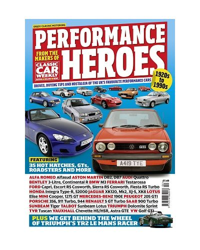 Classic Car Weekly guide to Performance heroes