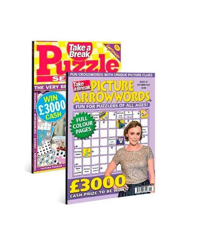 Picture Arrowwords & Puzzle Selection Print Subscription Pack