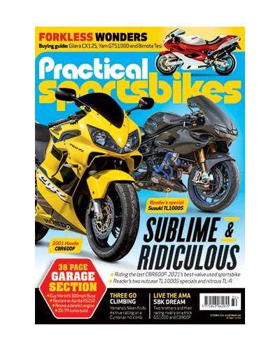 Practical Sportsbikes October 2021