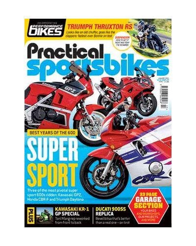 Practical Sportsbikes January 2021
