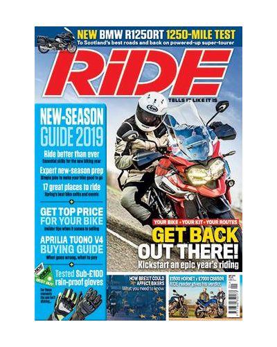 Ride May 2019