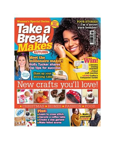 Take a Break Makes: Issue 2: Oct 2021
