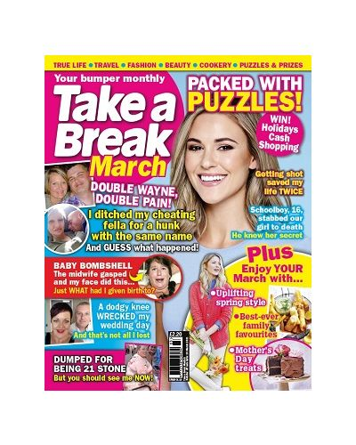 Take a Break Monthly March 2021