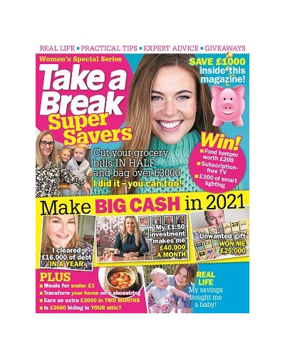 Take a Break Super Savers January 2021