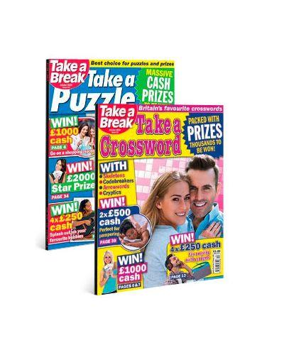 Take a Puzzle & Take a Crossword Print Bundle