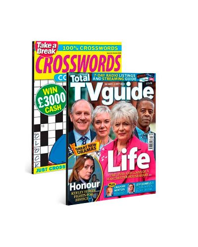 Total TV Guide - England & Crosswords Collection Print Subscription Pack