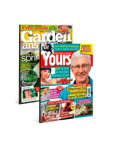 Yours & Garden Answers Print Subscription Pack
