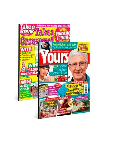 Yours & Take a Crossword Print Subscription Pack