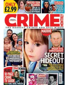 Crime Monthly Print Issue 31