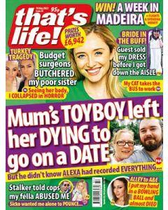 That's Life Digital Magazine Subscription