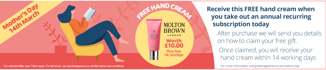 mothers day hand cream free gift