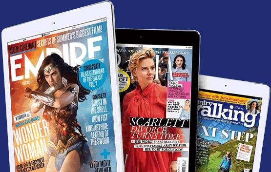 digital magazines banner